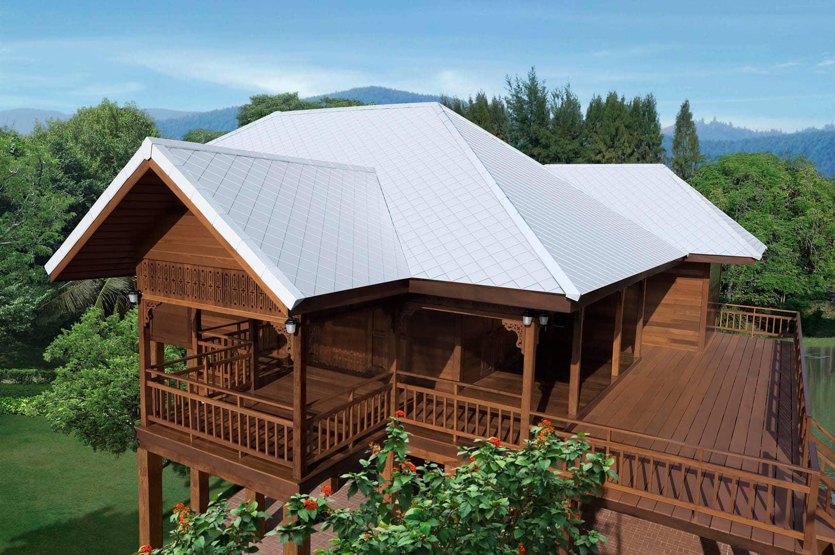 Fiber Cement Roof Ayara Classic Coral Grey 2