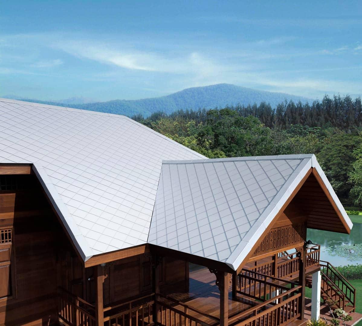 Fiber Cement Roof Ayara Classic Coral Grey 3