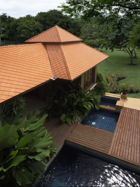 Fiber Cement Roof Ayara Classic Natural Brick site reference 4