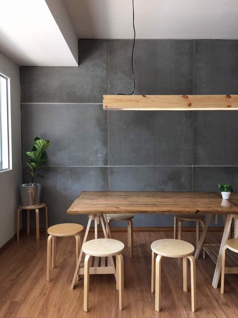 SCG Cement Board for co working space decoration