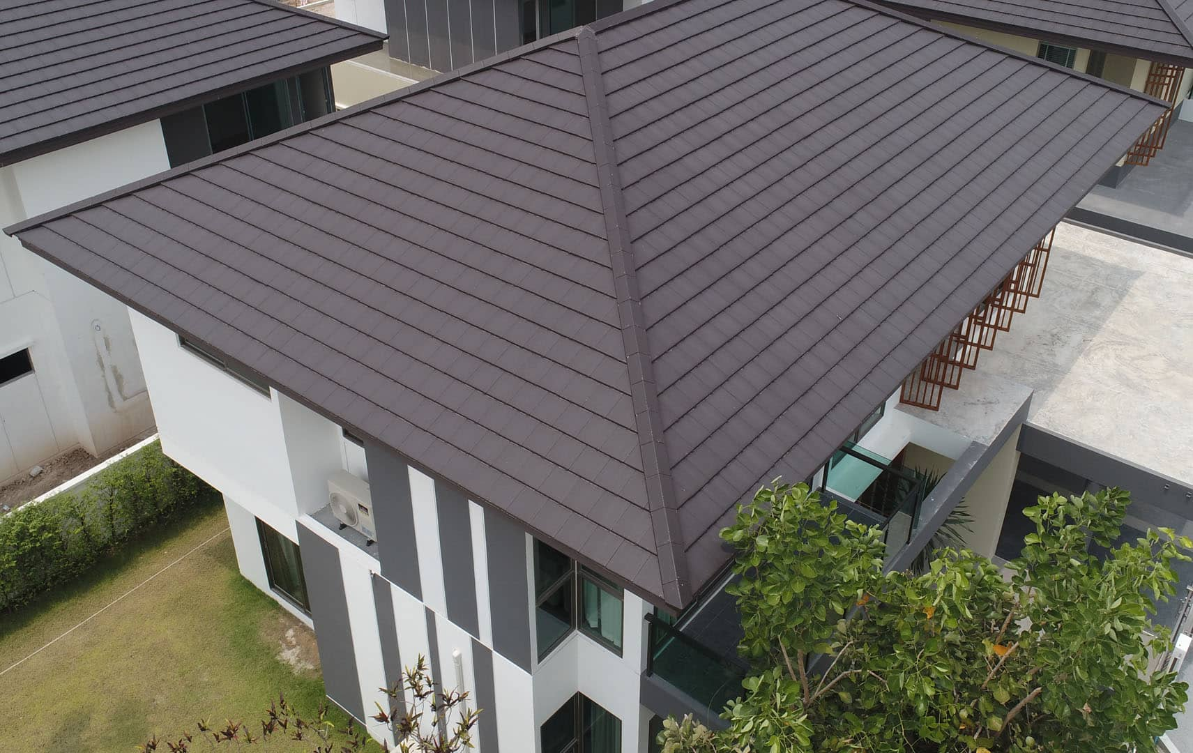 SCG Concrete Roof - Prestige roof for modern house