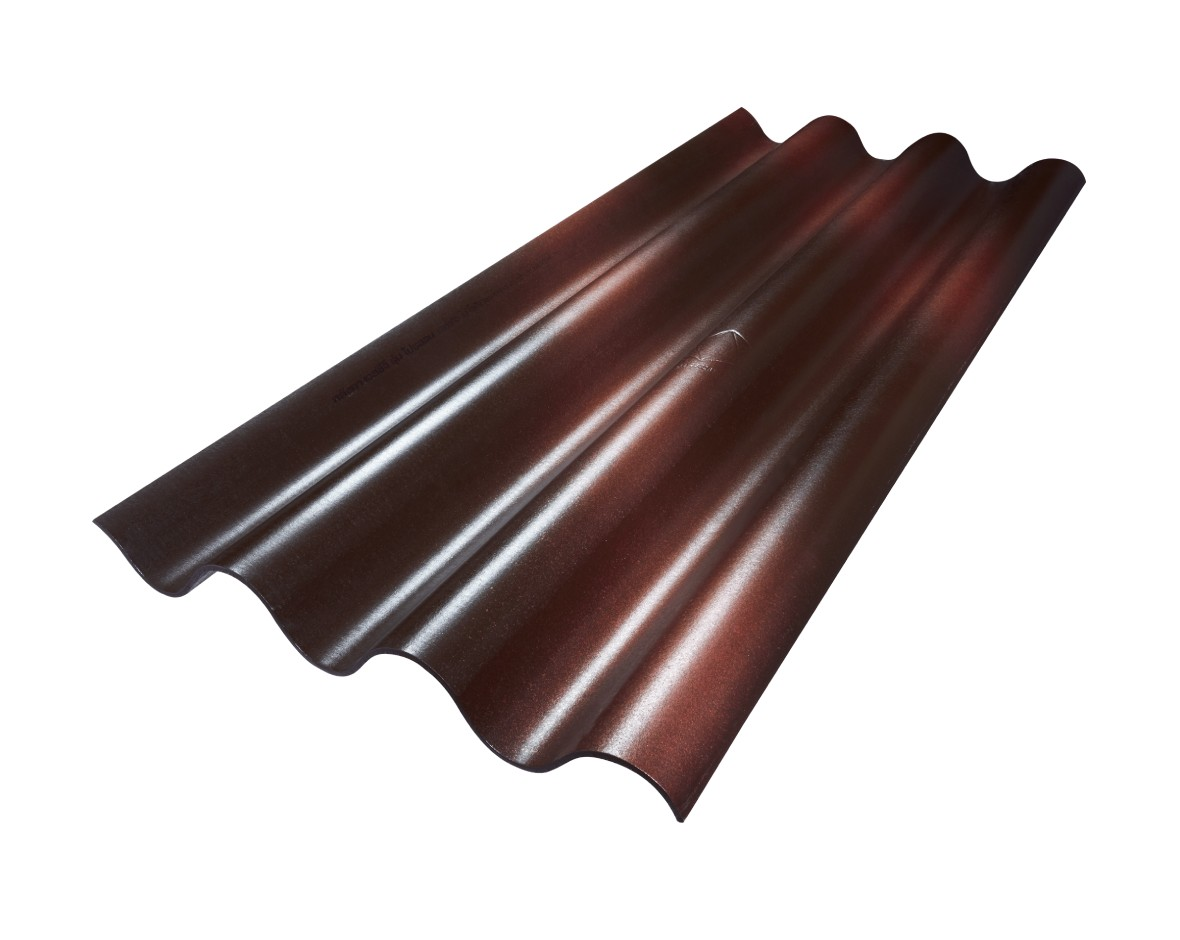SCG Fiber Cement Roof Prolon Brown Mangmee