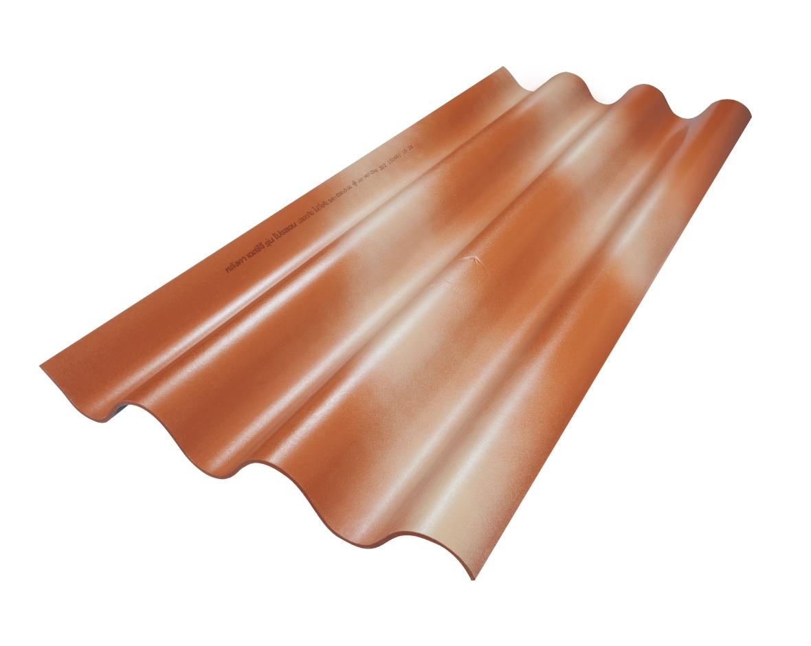 SCG Fiber Cement Roof Prolon Orange Flash