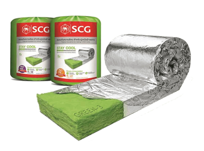 SCG Thermal Insulation made in Thailand