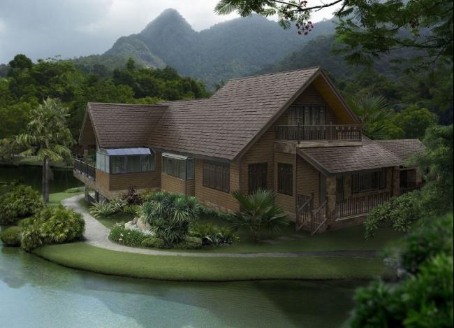SCG Roof Timber-Lumber-Hazel-Brown