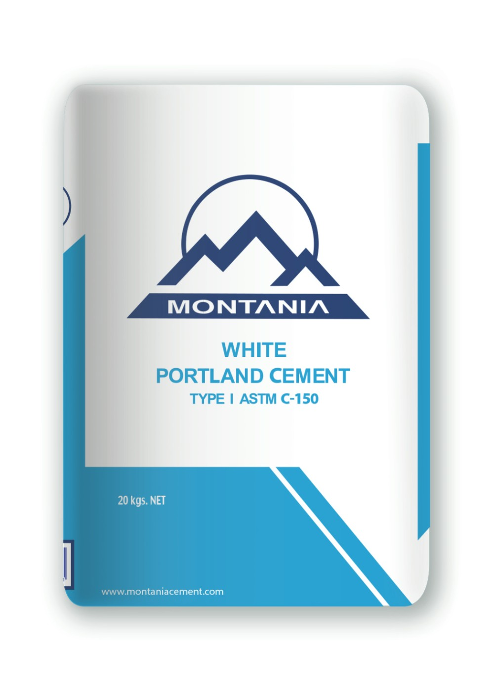 White cement Montania M1 White Pool Plastering