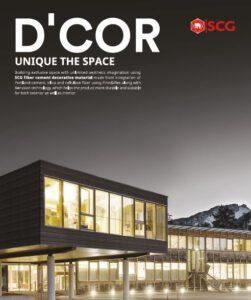 SCG Line D Cor Catalog