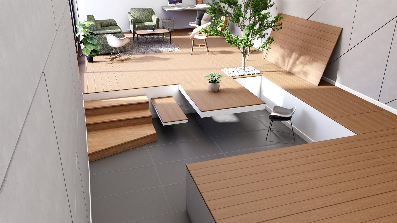SCG Mega Floor Wood Plank