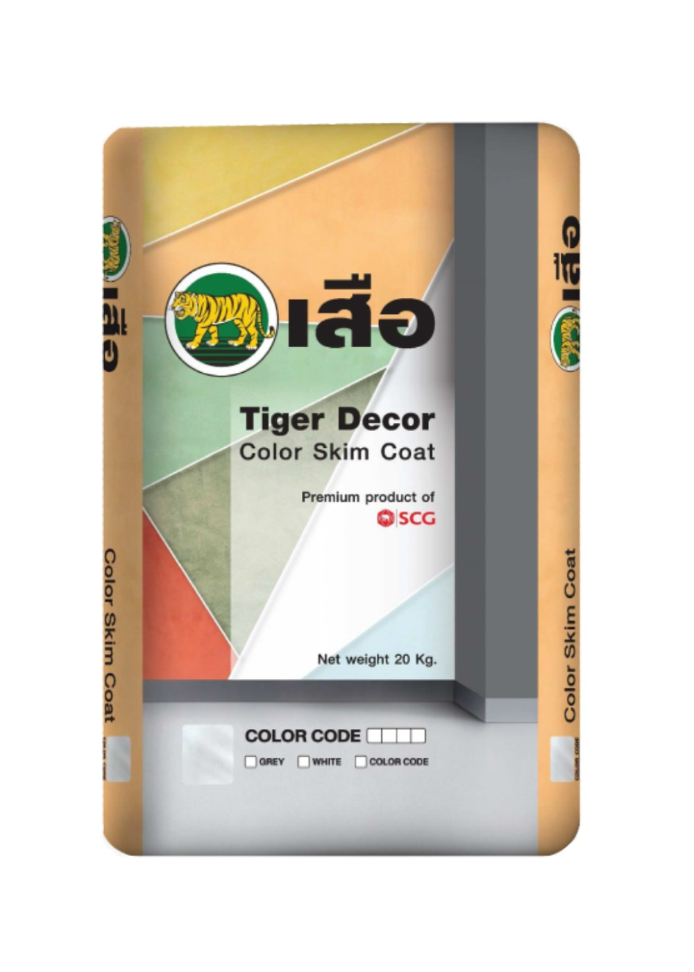 Tiger Decor Color Skim Coat