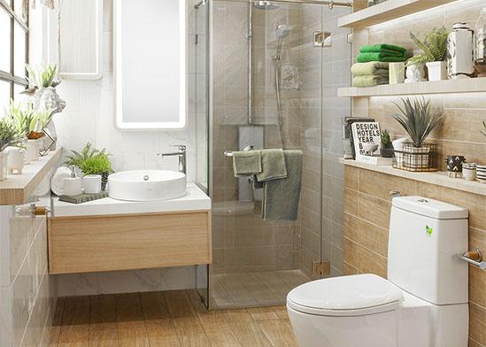 ตัวอย่างห้องน้ำ-ไอเดียห้องน้ำ