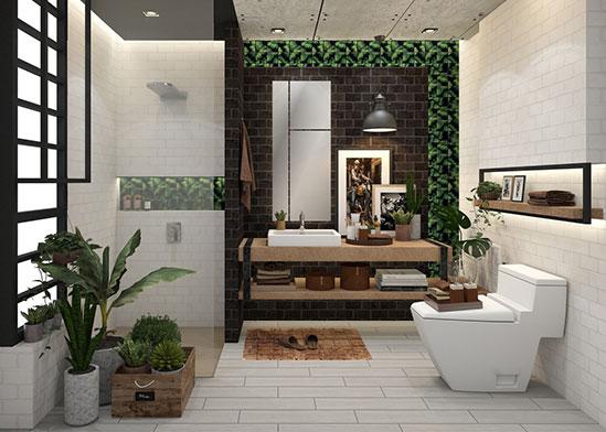 รีโนเวทห้องน้ำ-ห้องน้ำลายใบไม้-thumb