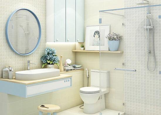 แบบห้องน้ำ-ตัวอย่างห้องน้ำสวย