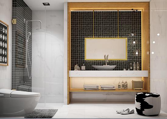 ไอเดียห้องน้ำ-ตัวอย่างห้องน้ำสวย