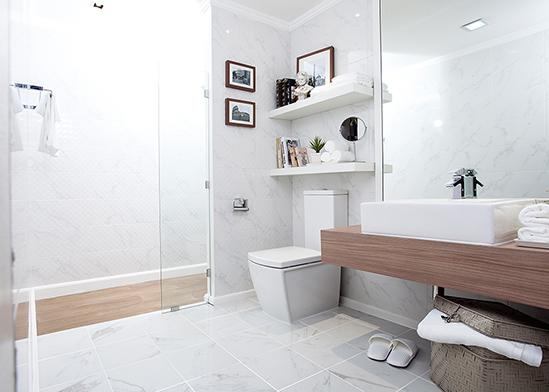 ไอเดียห้องน้ำ-แต่งห้องน้ำลายหินอ่อน