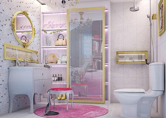 ไอเดียห้องน้ำ-แต่งห้องน้ำหรูหรา