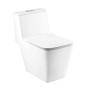 COTTO One Piece Toilet S-Trap Simply Modish Series - DUAL FLUSH