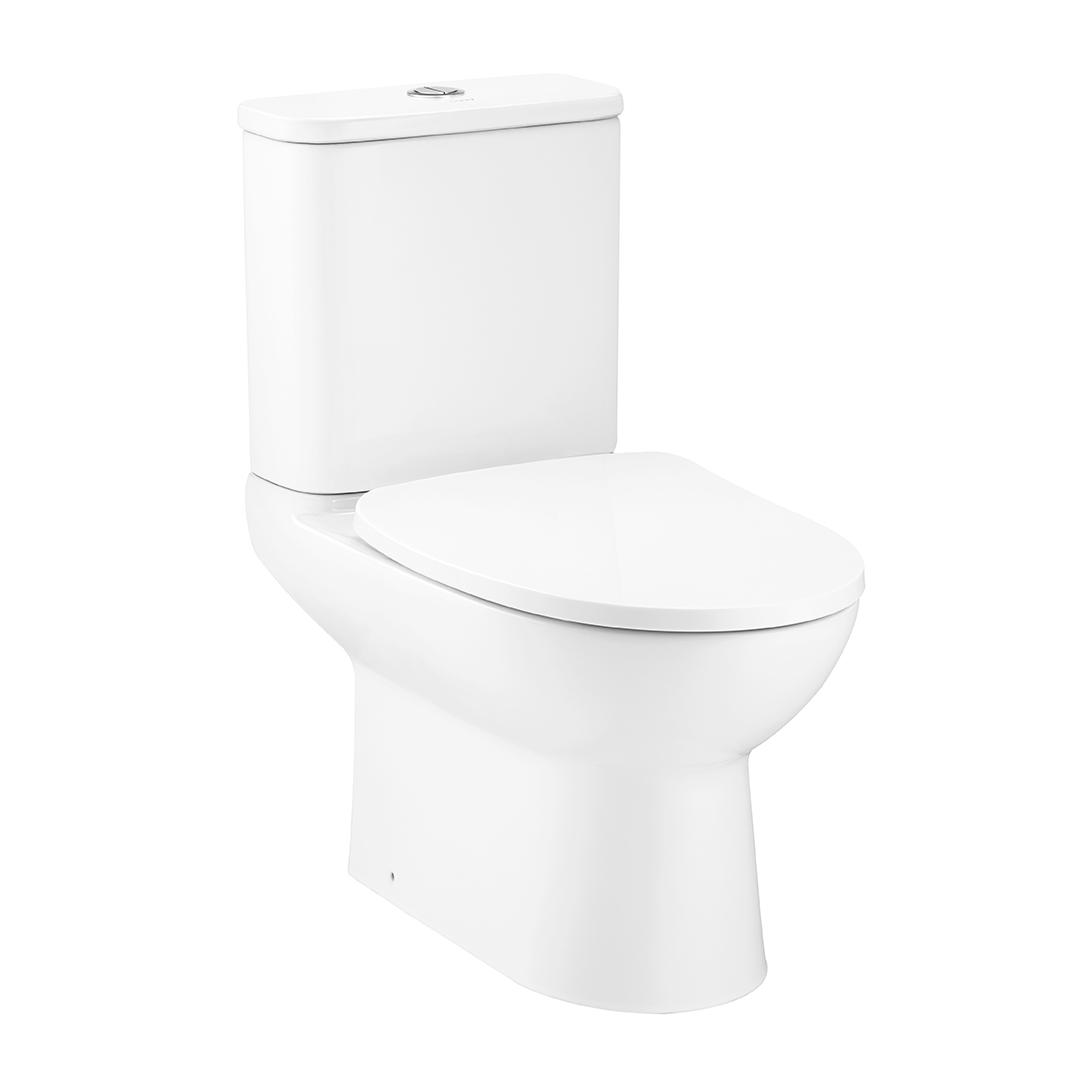 COTTO Two Pieces Toilet S-Trap Mood Series 34.5 L - DUAL FLUSH