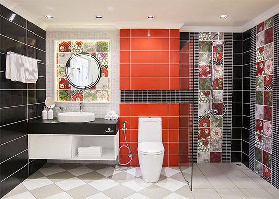 Cotto Bathroom