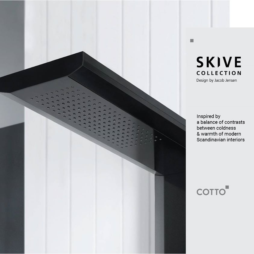 Cotto Shower Skive Collection for modern bathroom