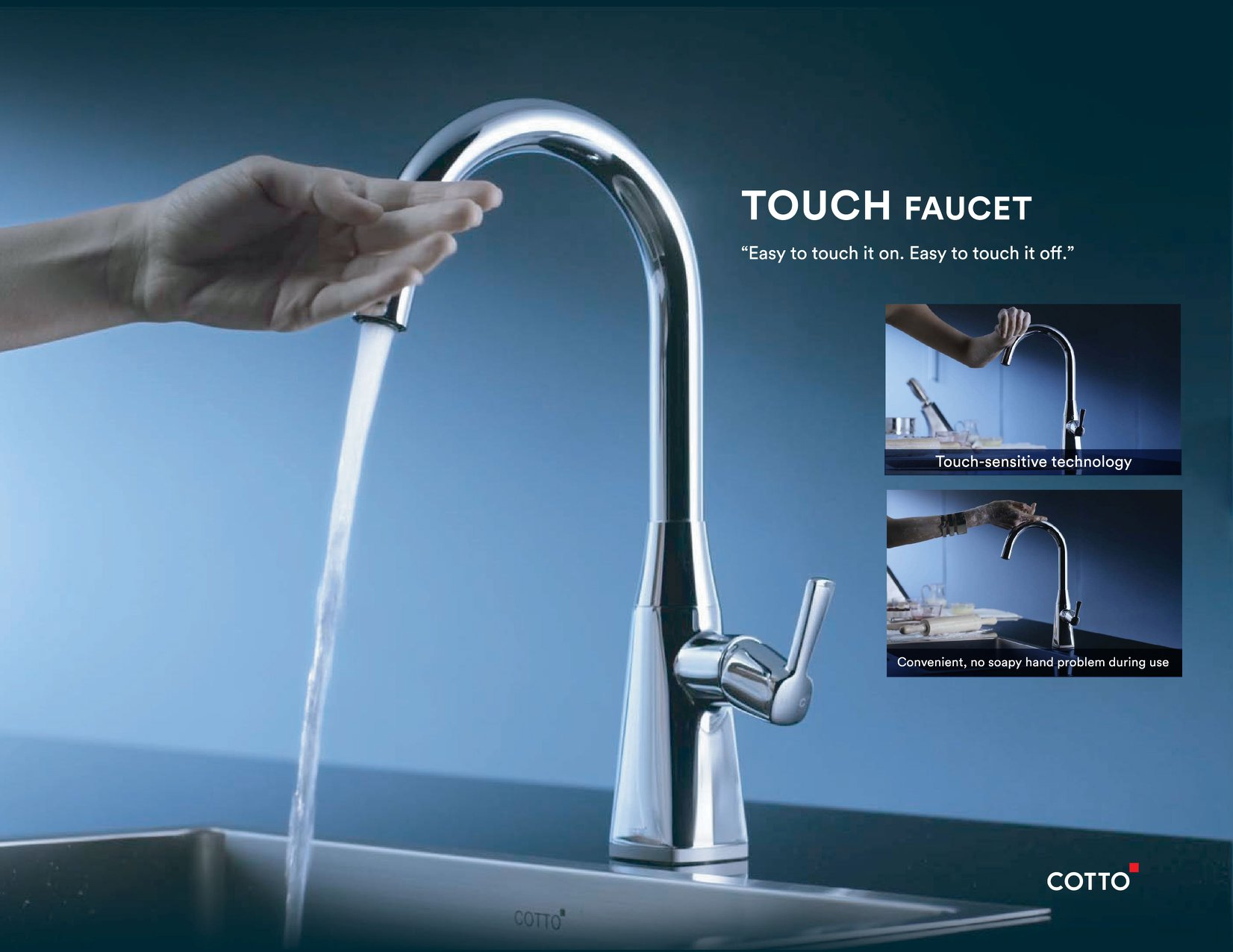 Cotto Touch Faucet