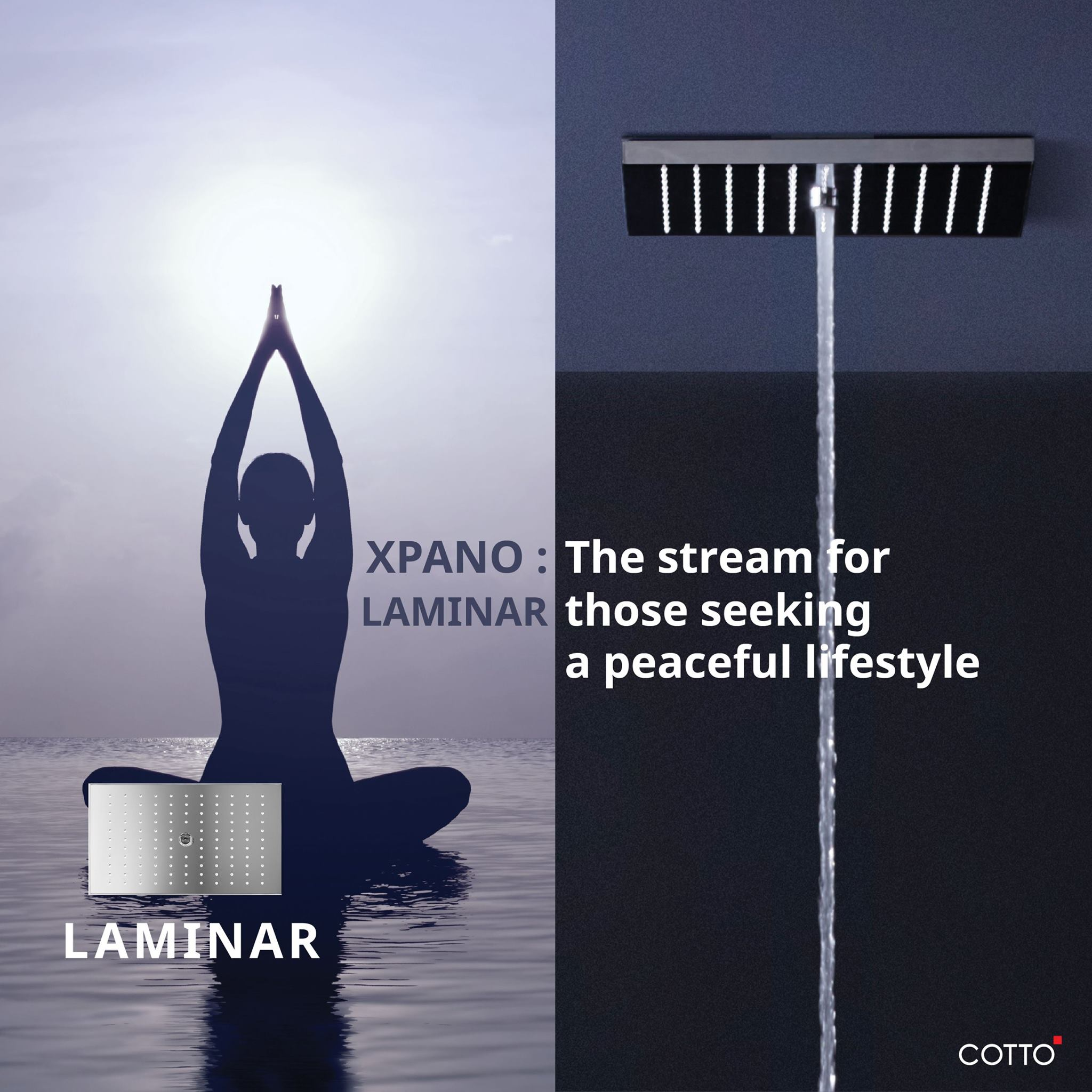 Cotto Xpano Shower Series 2