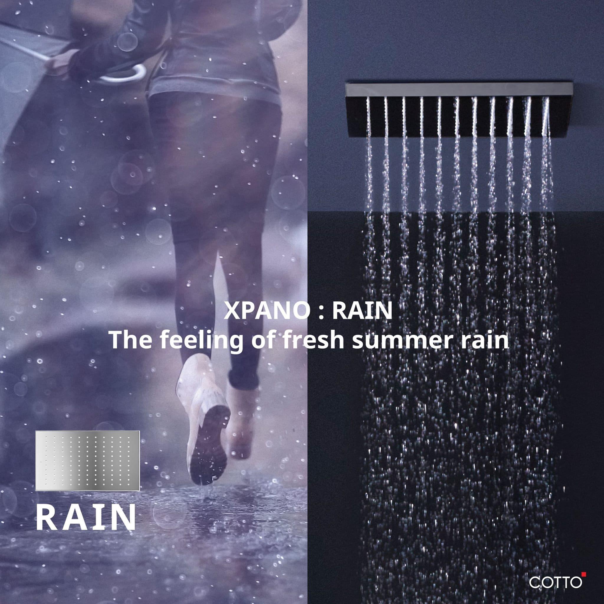 Cotto Xpano Shower Series 4