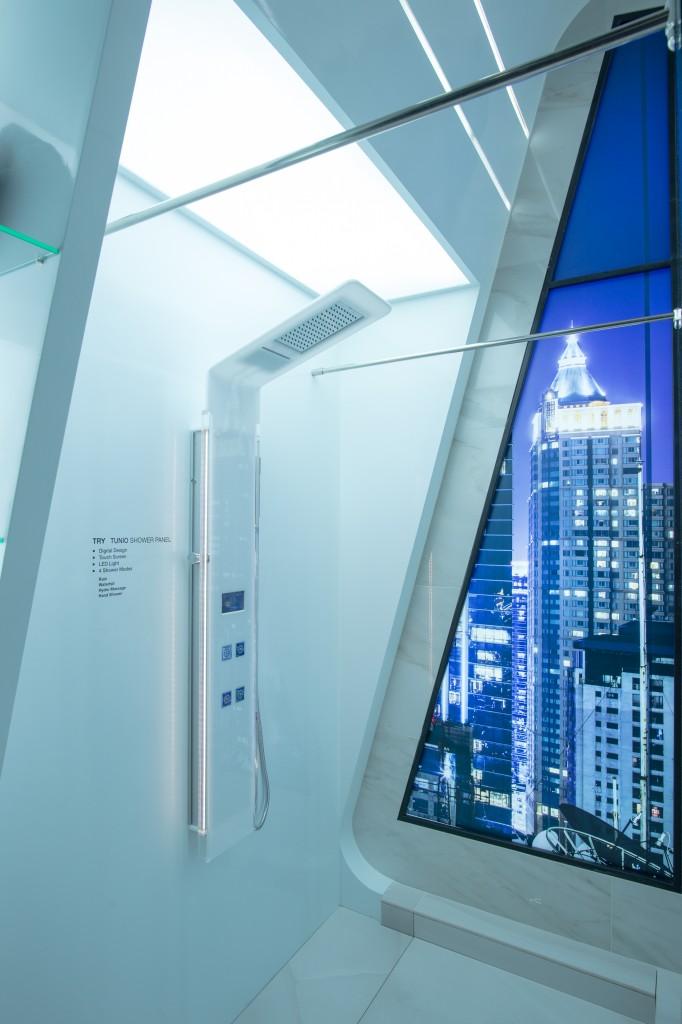 Modern shower idea