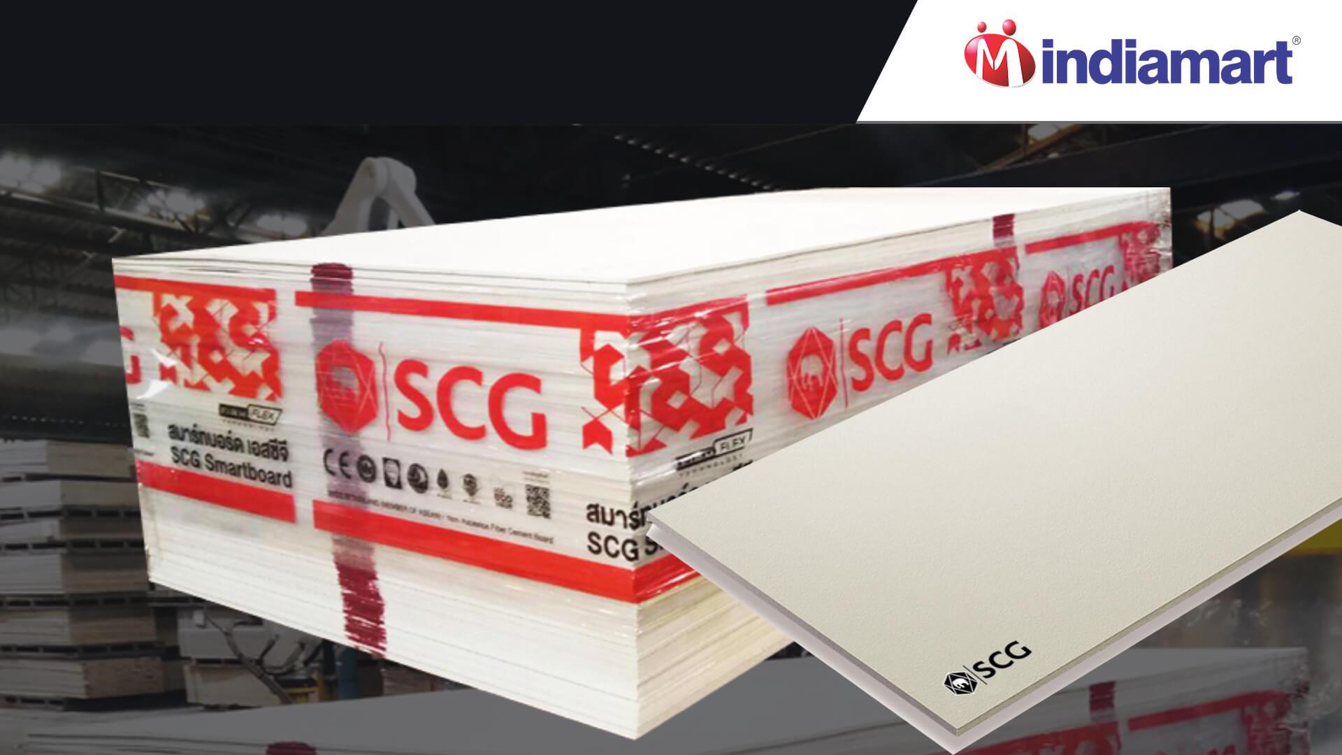 SCG Fiber Cement sheet Price in Indiamart