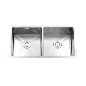 Kitchen Sink Double Bowl with tray 8045A