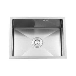 Kitchen Sink double Bowl with tray 5545A