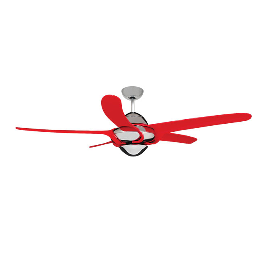 Urgano Ceiling Fan - Red - Ceiling Fan seller in Dhaka