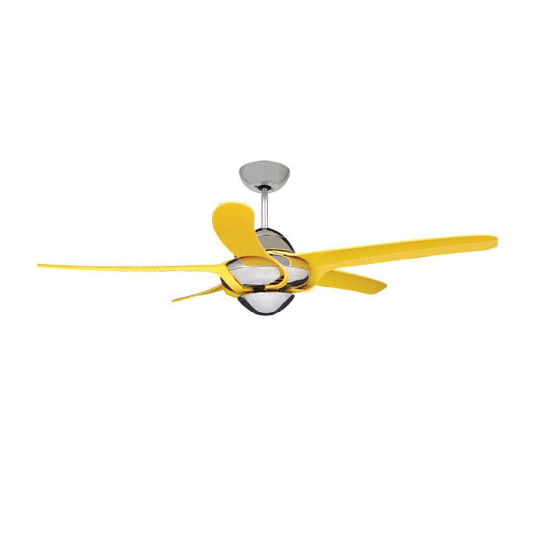 Urgano Ceiling Fan - Yellow - Ceiling Fan seller in Dhaka