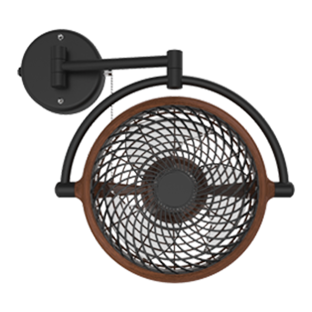 Vivi Wall Fan - Walnut - Wall Fan Supplier in Dhaka