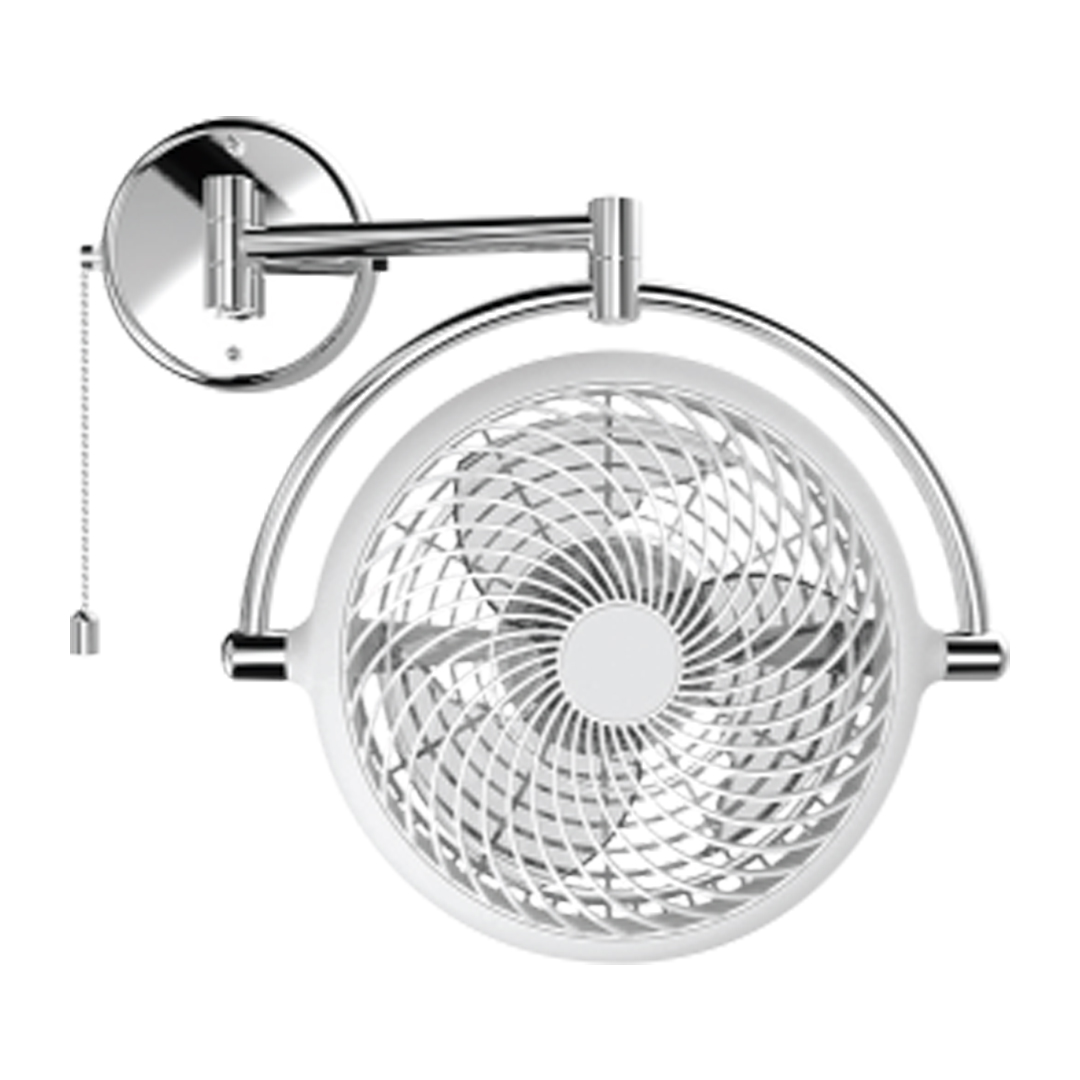 Vivi Wall Fan - White - Wall Fan Supplier in Bangladesh