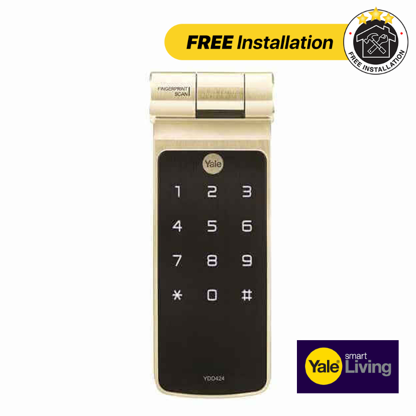 Yale Digital Lock YDD424 - FREE Installation