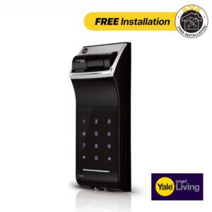 Yale Fingerprint Rim Mounted Lock YDR 4110- FREE Installation