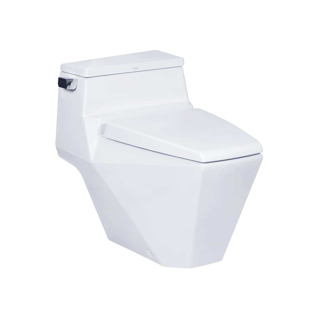Cotto Glacier One Piece Toilet (Hygiene) - C10077
