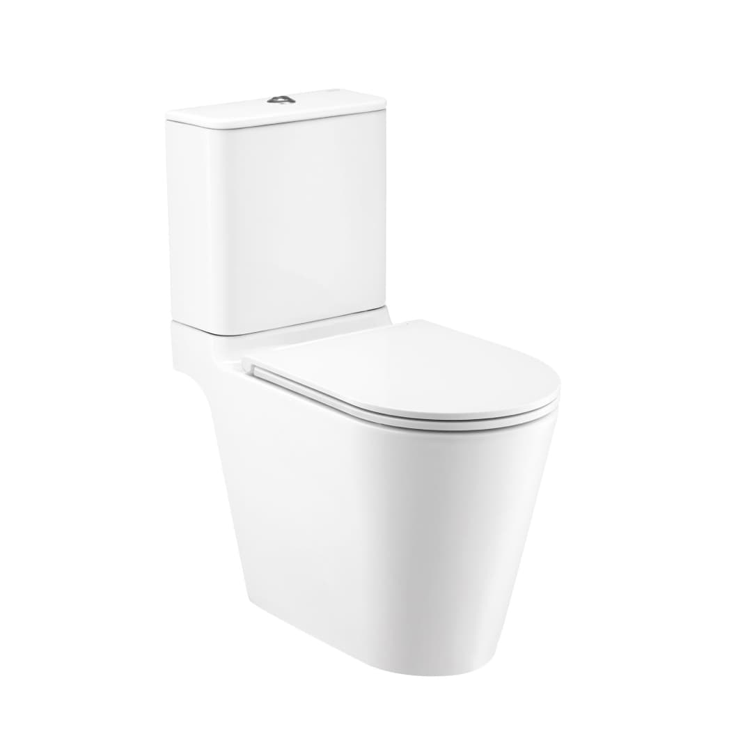 Cotto Simply Connect Two Piece Flush Toilet (Hyg.) - C125117