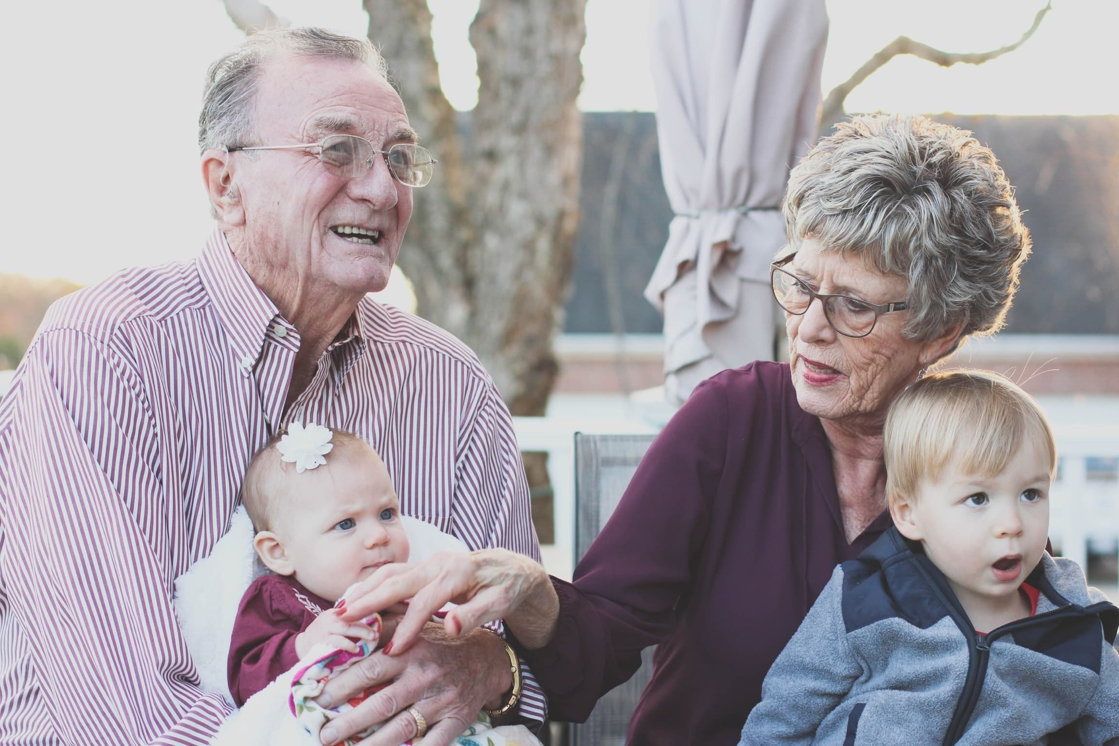 Generations of family members