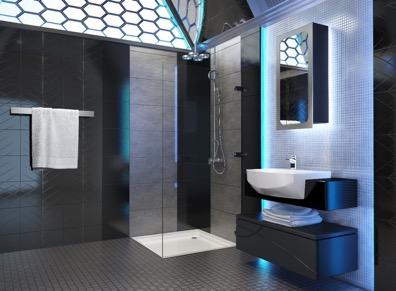 Semi recessed wash Basin design sample