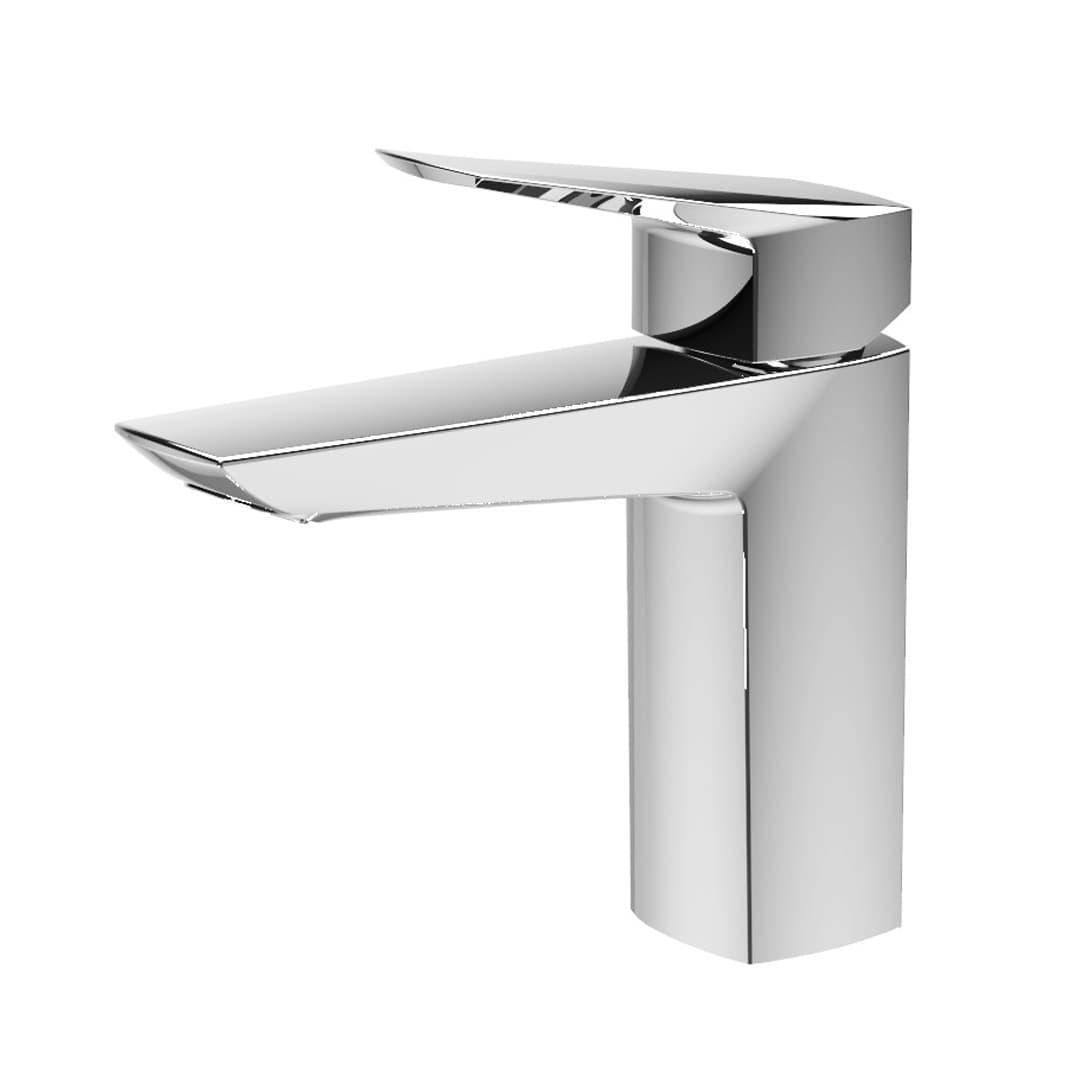 Single hole faucet for wash basin