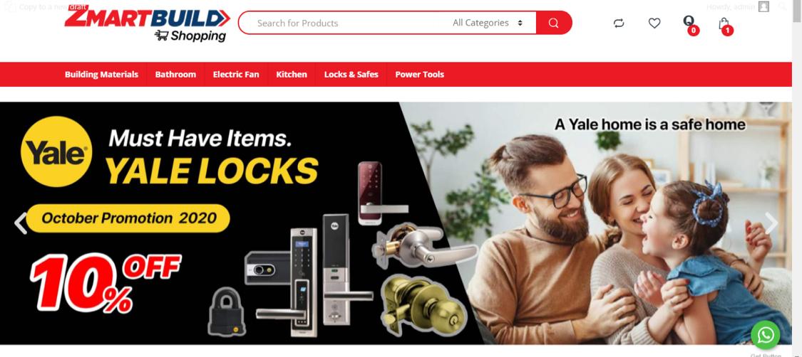 Zmartbuild online shopping