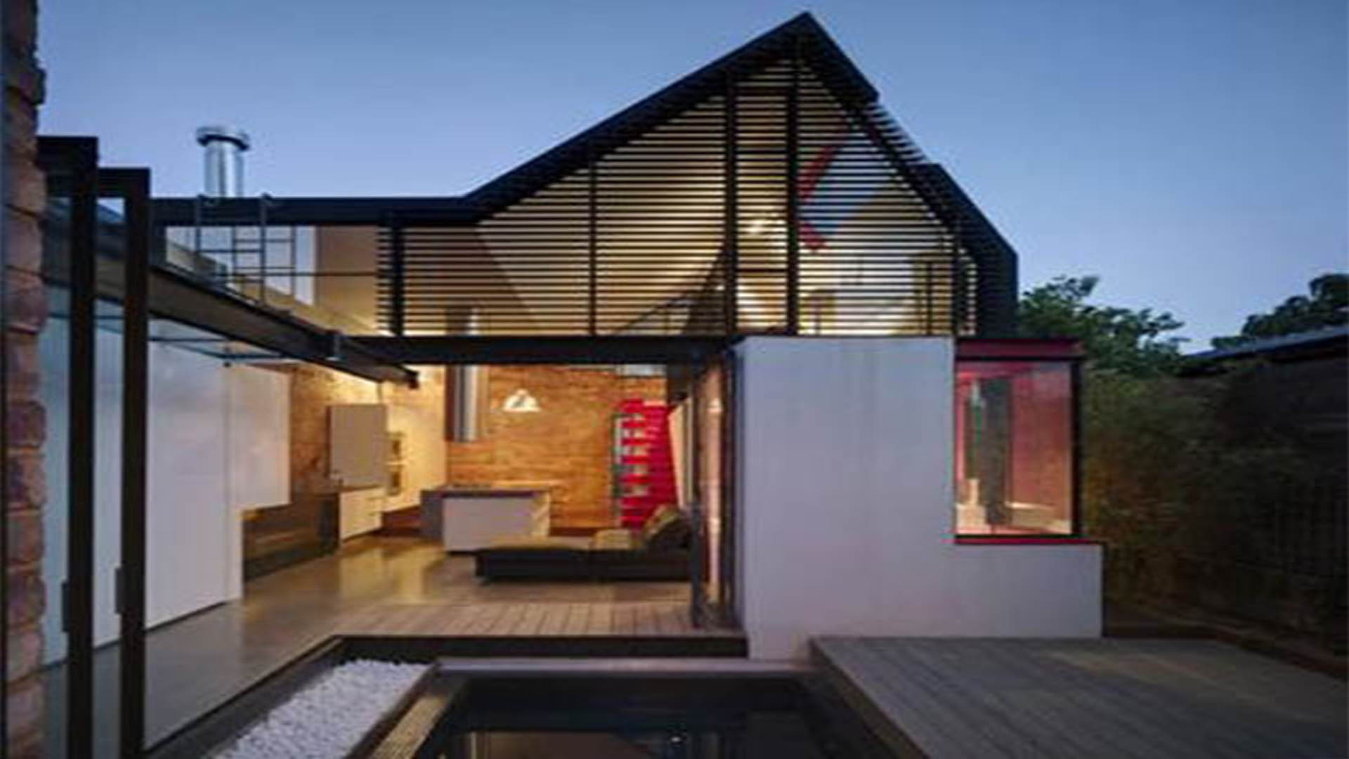 Modern style house _ cover