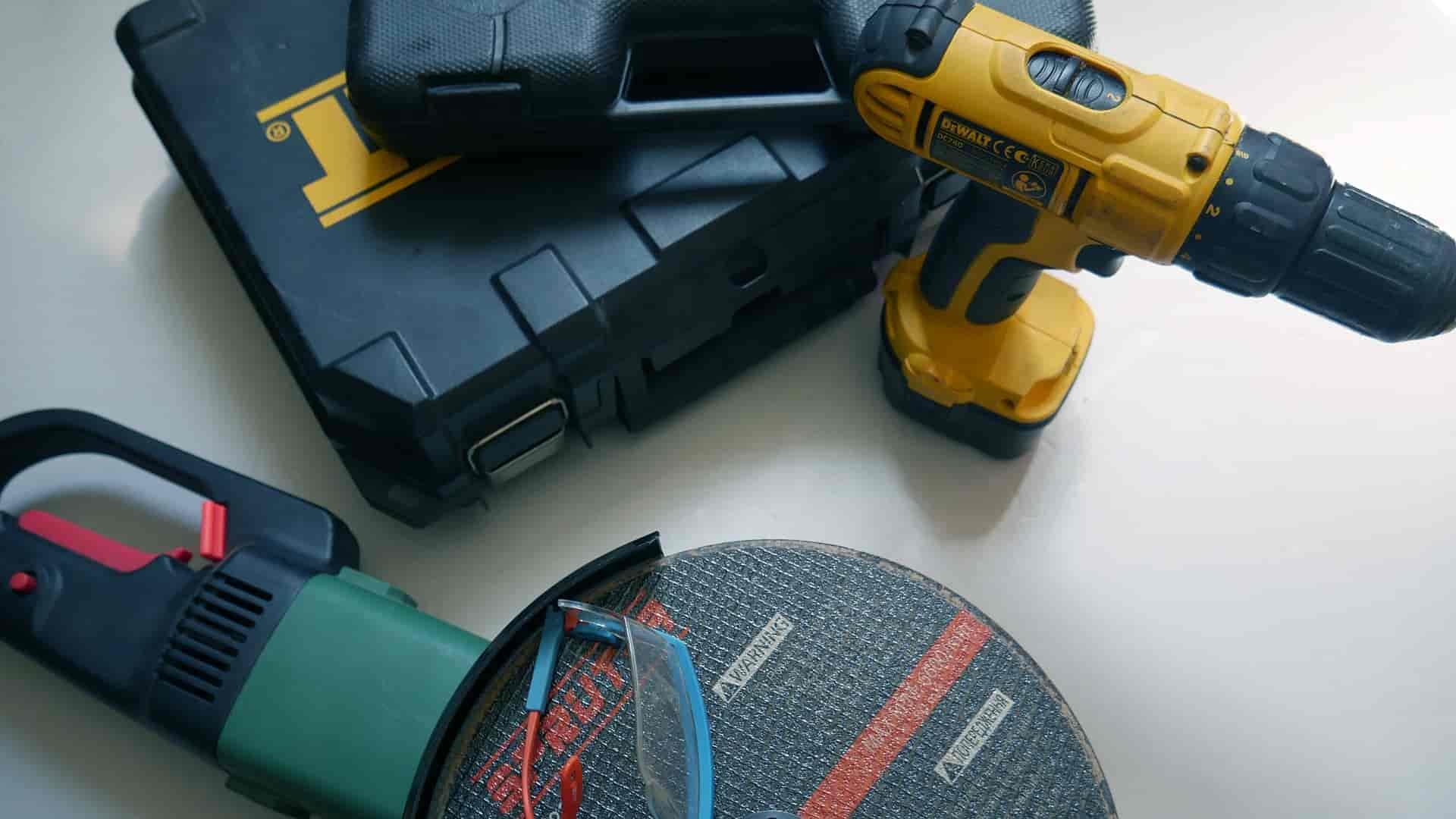 Power tools at home