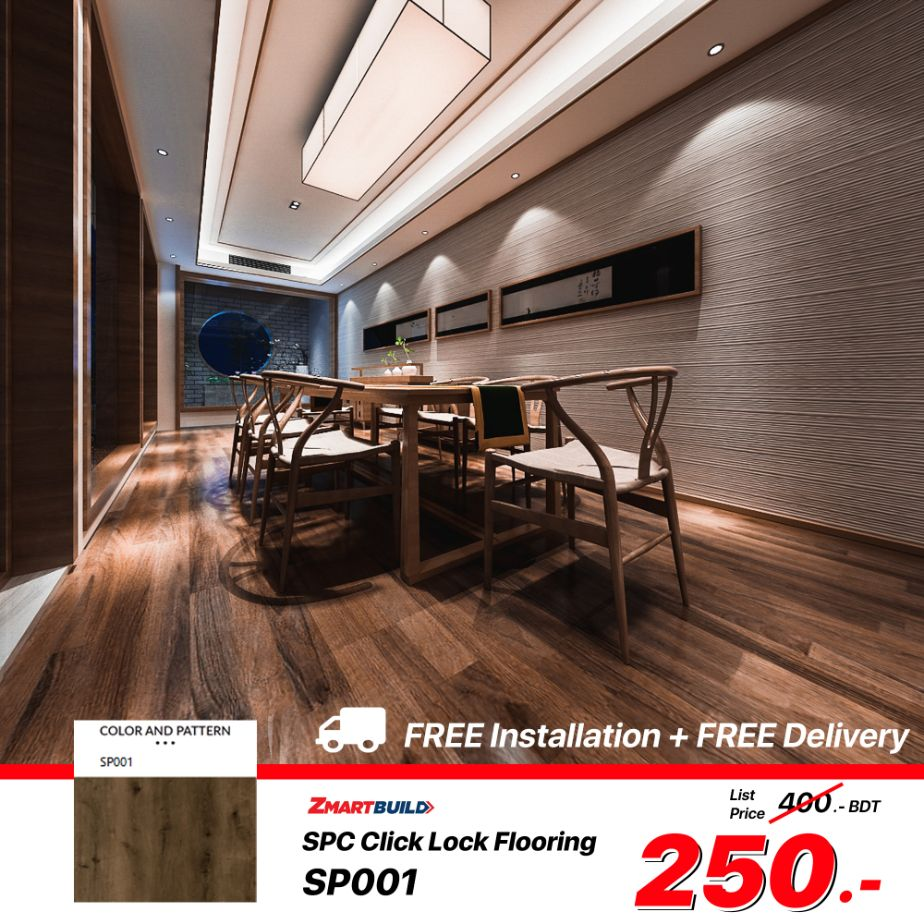 ZMARTBUILD SPC Floor -- SP001 Ads