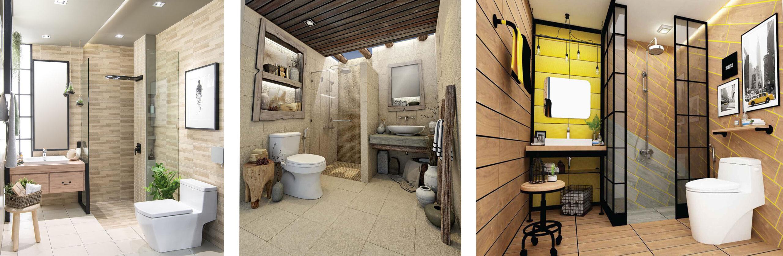 Small bathroom decorate 3 series
