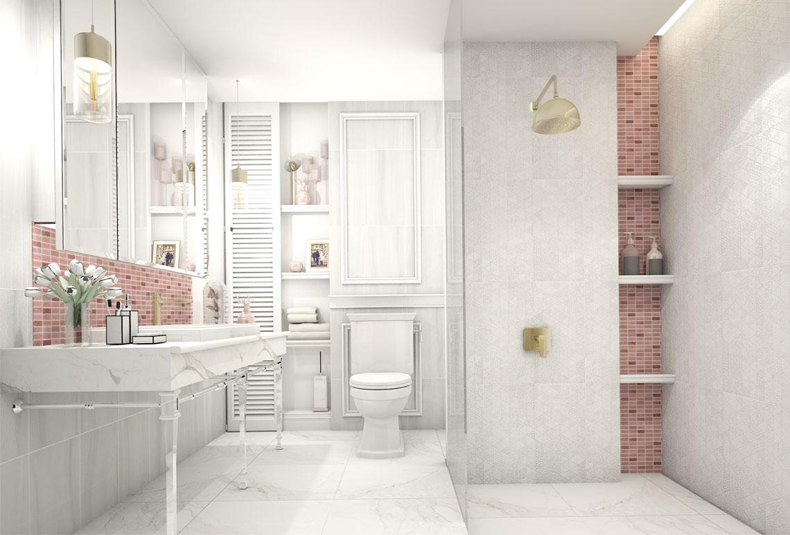 Small bathroom decorate CHARISMA