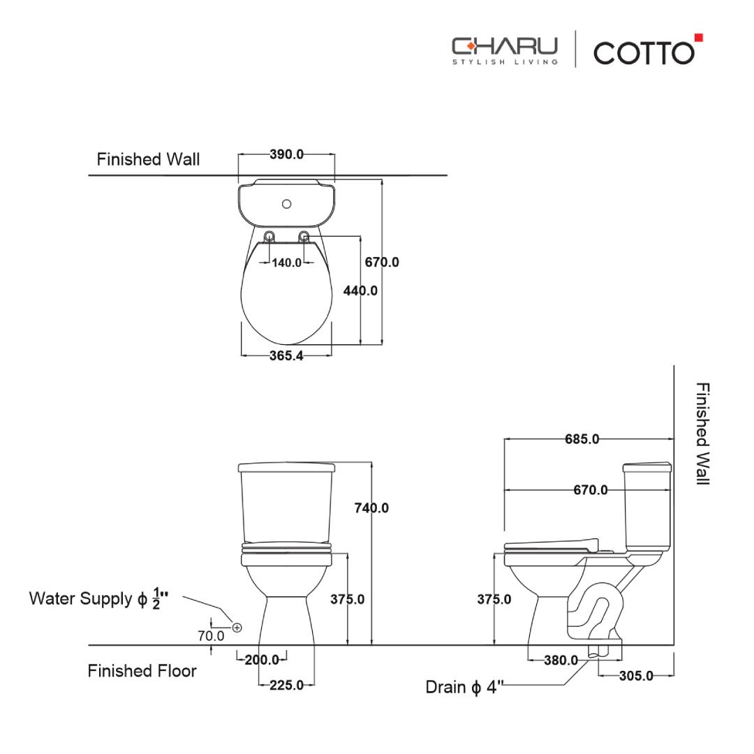 Charu (Cotto) Tina - C1480.2