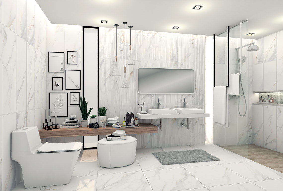 Tricks to Decorate the Small Bathroom…Avoid the Uncomfortable