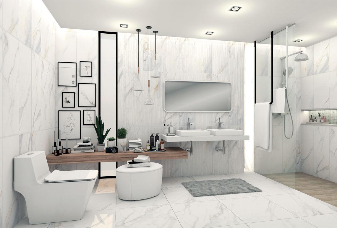 small bathroom decorate Cover